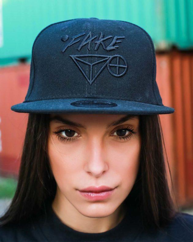 New Era 9Fifty Black Cap